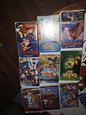 VHS tapes lot of 54 for Sale in Eureka, IL