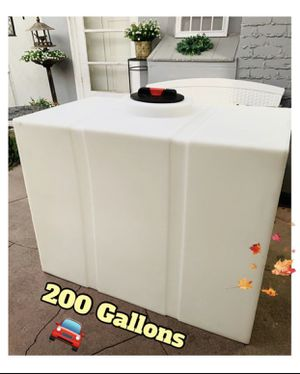NEW... Water Tank, (200GALLON) Quality Heavy Duty☀️ for Sale in Santa Ana, CA