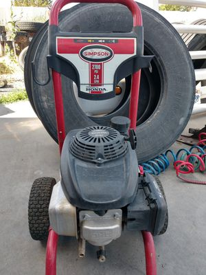 Simpson 2700 psi pressure washer for Sale in Bluffdale, UT