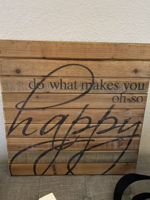 14x14 Wood wall decor for Sale in Tulare, CA