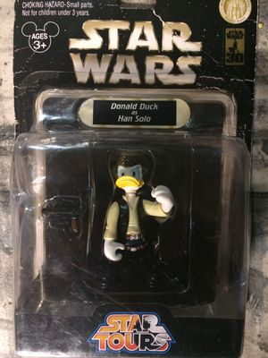 Star Wars Donald Duck As Han Solo for Sale in Corona, CA