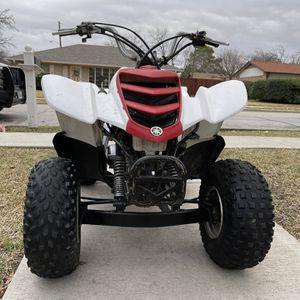 2004 Yamaha Raptor 50cc Para Niños Con 4 Llantas Nuevas Incluidas for Sale in Irving, TX
