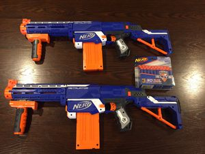 2 Nerf Guns and Darts for Sale in Richardson, TX