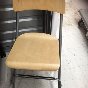 Folding Bar Stool With Foot Rest $15 for Sale in Roseville, MI