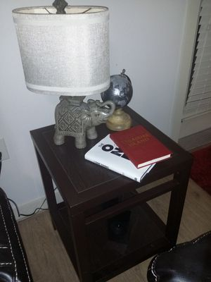 Table lamp and globe . Can sell separate for Sale in Austin, TX