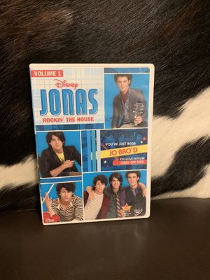 Disney Channel JONAS TV Show Vol. 1 & Jonas Brothers The Concert Experience Extended Movie for Sale in Douglasville, GA