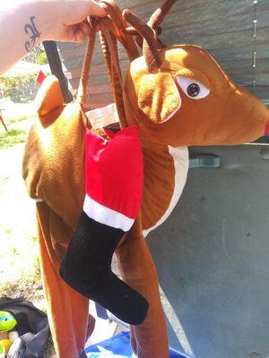Reindeer costume kids for Sale in Saint Petersburg, FL
