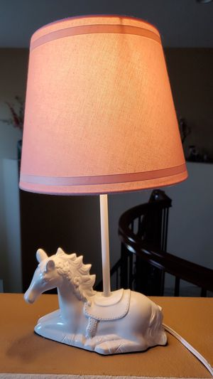 Night stand horse lamp for Sale in Corona, CA
