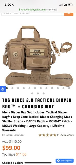 Tactical diaper bag for Sale in Virginia Beach, VA