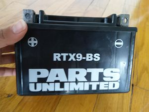 RTX9-BS Motorcycle Battery by Parts Unlimited for Sale in Chicago, IL