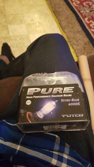 Pure high performance nitro blue 6000 headlight bulbs for Sale in Kalamazoo, MI