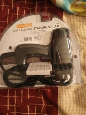 2 in 1 electric stapler/nailer for Sale in Irwindale, CA