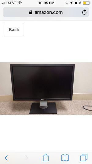 "Dell UltraSharp U2311H Black 23"" WideScreen Screen 1920 x 1080 Resolution LCD Flat Panel Monitor computer for Sale in Santa Monica, CA"