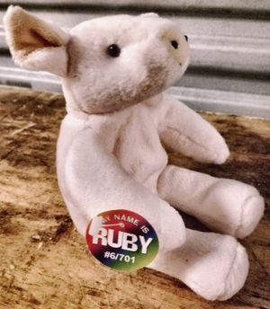 ORIENTAL TRADING COMPANY INC. 🐖 RUBY PLUSH beanie 6 inch PIG for Sale in San Diego, CA