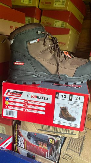 Dickies Work Boots Hard Tip Size 13 for Sale in Clemmons, NC
