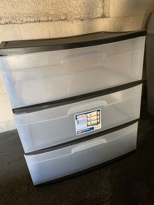 Plastic Storage Drawers for Sale in Los Angeles, CA