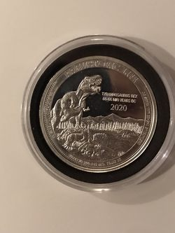 2020 .999 Silver 1 Ounce Prehistoric Life Mint!! for Sale in Arlington,  WA