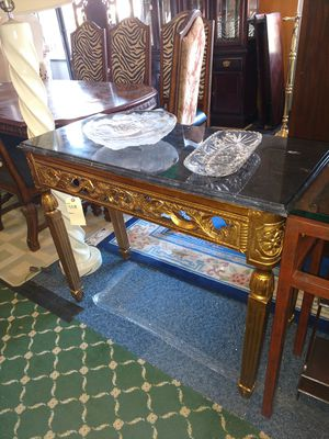 Marble top console table for Sale in Philadelphia, PA