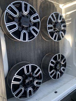 GMC Sierra 2500HD AT4 wheels rines for Sale in Houston, TX