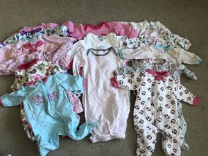 Girls 0-3 month clothes for Sale in Gainesville, VA