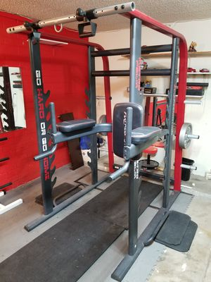 Home Gym Power Rack dip system for Sale in Glendale, AZ