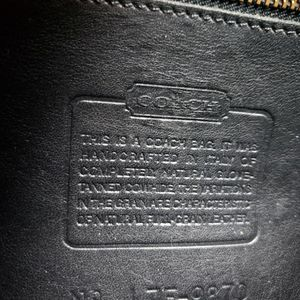 Vintage Coach Court Bag - Black for Sale in Lake Oswego, OR