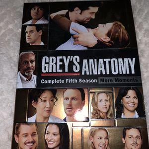 Greys Anatomy DVD Season 5 for Sale in Canton, MI