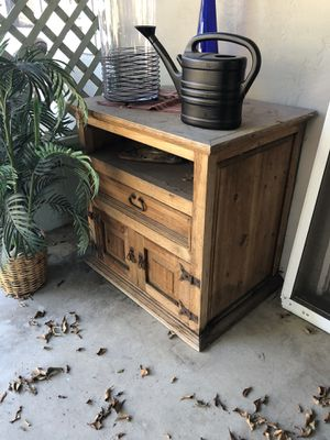 Rustic TV stand for Sale in San Diego, CA