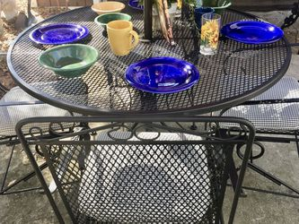 Wrought Iron Patio Set for Sale in Gainesville,  FL