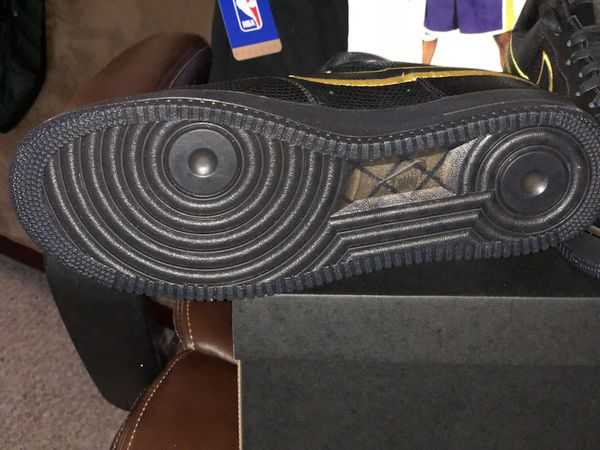8be5213f NIKE Air Force 1 Kobe Bryant Black Mamba retirement shoe size 13 and ...