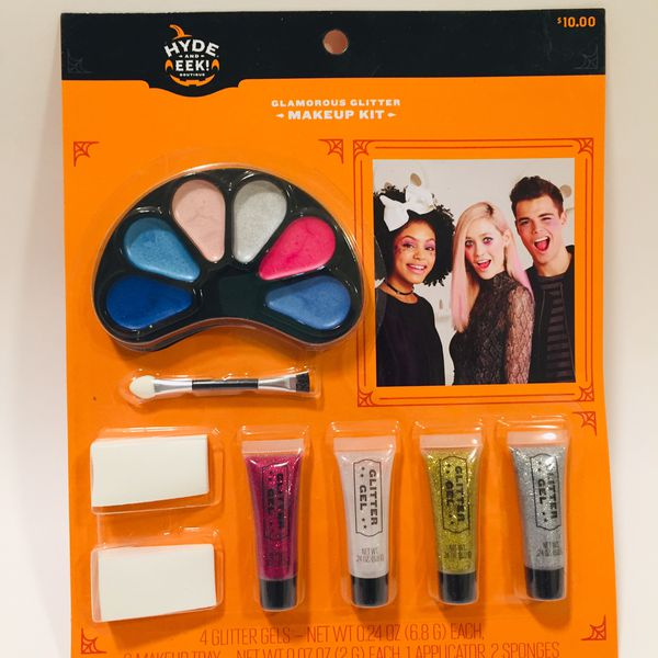 Glamorous Glitter Halloween Makeup Kit NWT