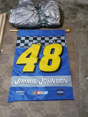 Jimmy Johnson #48 2 sided premium flag for Sale in Livonia, MI