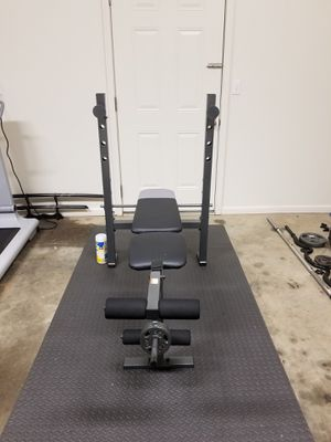 Bench Press with attachments for Sale in FT LEONARD WD, MO