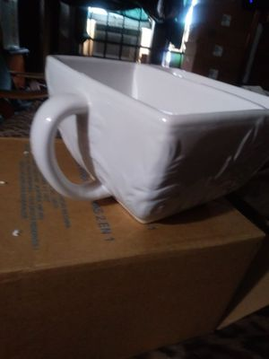 Cup two side. Don't put in microwave From Avon boxed for Sale in Detroit, MI
