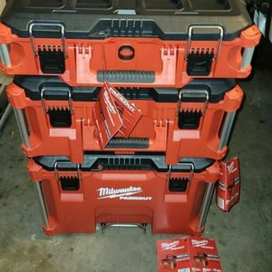 Milwaukee Packout Toolbox for Sale in Tracy, CA