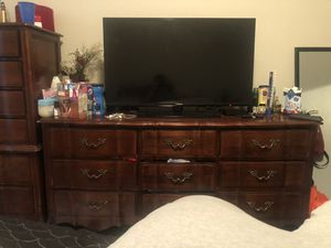Wooden bedroom furniture for Sale in Nashville, TN
