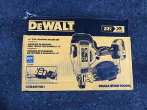 Dewalt 15• Coil Roofing Nailing Gun Kit (Brand New) for Sale in The Bronx, NY