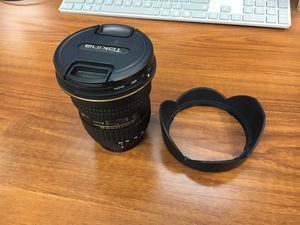 Tokina AT-X 11-20mm f/2.8 PRO DX Lens for Nikon for Sale in Seattle, WA