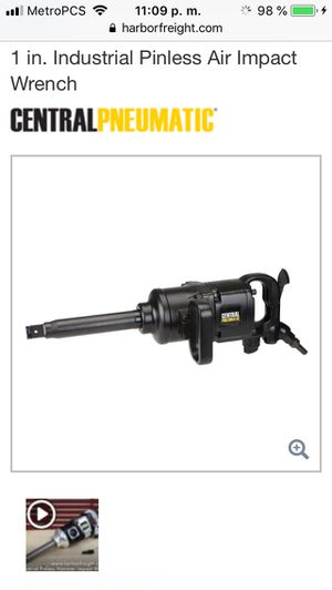 Impact wrench 1 inch for Sale in Orlando, FL