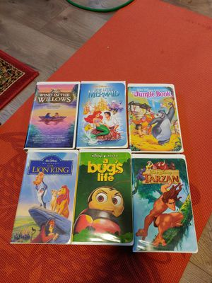 Classic Disney VHS for Sale in Seattle, WA