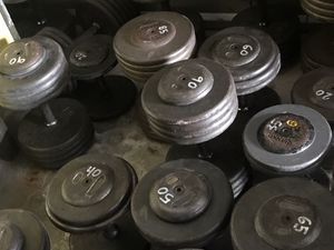 Ivanko Pro Dumbbells 20-120, whole set or pairs! for Sale in Henderson, NV