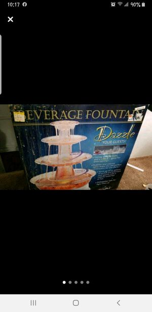 Electric beverage fountain for Sale in Cleveland, OH