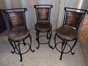 Counter stools, set of three for Sale in Lorton, VA