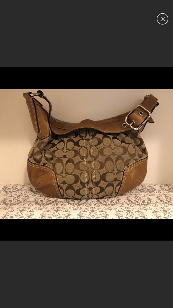 Authentic vintage Coach hobo bag