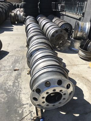 Commercial truck and Trailer wheels - Rines para CAMION y traila ! for Sale in Riverside, CA
