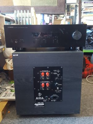 Yamaha sound receiver with subwoofer for Sale in San Francisco, CA