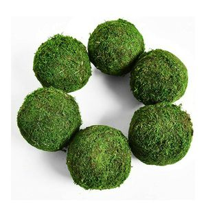 "Moss Ball, Natural Decorative Green Globes with Handmade, Hanging Balls Vase Bowl Filler for Home Party &Weddings Display Decor Props (3.5""-Set of 6) for Sale in El Cajon, CA"
