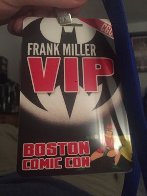 VIP for comicon Saturday for Sale in Framingham, MA