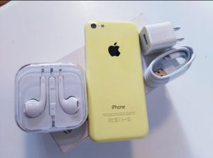 """iPhone 5C """"Factory+iCloud Unlocked Condition Excellent"""" (Like Almost New) for Sale in Springfield, VA"""