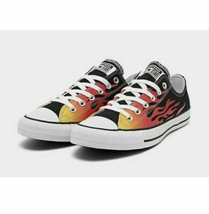Converse Chuck Taylor All Star 70 Low Flame Black Size 6 /Womens Shoes 8 166259F for Sale in French Creek, WV
